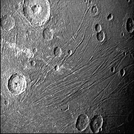 Another image of Ganymede reveals the moon's