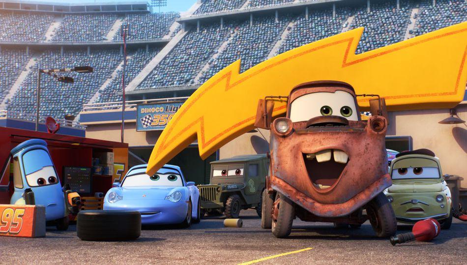cars 3 reviews prove