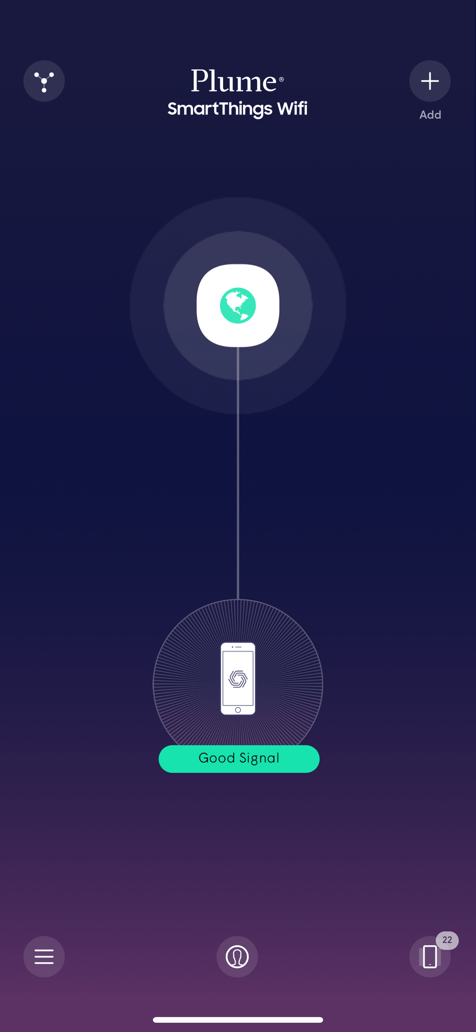 small resolution of the customized plume smartthings experience