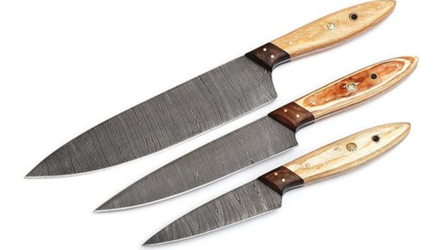 These knives are a great options for anyone obsessed with cooking shows and the Food Network.