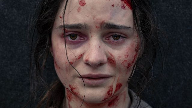 Aisling Franciosi in 'The Nightingale'.