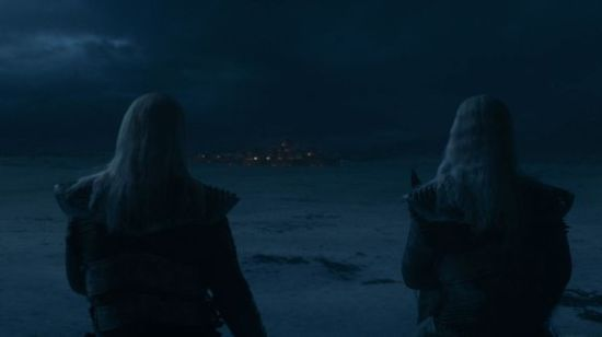 The White Walkers about to punk Winterfell