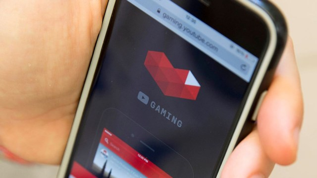 The Youtube Gaming website back in 2015.