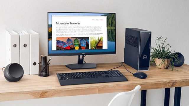 Maximize your workspace with the Dell SE2419H monitor.