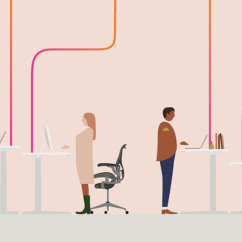 Chair Connected To Desk King Tut Herman Miller Unveils A Cloud Because That S The Data Goes