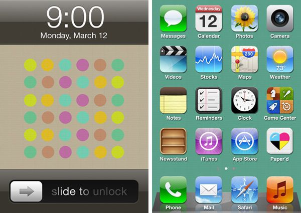Mondrian Iphone Wallpaper A Startup Born On Twitter Paper D Is Custom Art For Your