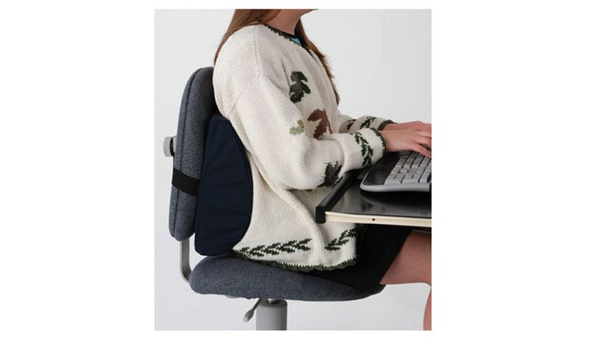 office chair posture tips steel on gem 7 simple ways to improve your at work 5 try using a lumbar support pillow