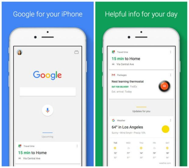 Strictly speaking, you don't need to have Google's iPhone app since Safari has Google baked into the browser. But you'll want the standalone Google app for how much more it offers. Sure you can use the app to search hands-free, flip a coin and avoid lines at your favorite restaurants, but its neatest trick is Google Now. When enabled, Google Now can provide assistance — like letting you know when to leave to reach your next appointment on time, based on the current traffic conditions — before you even think to ask.