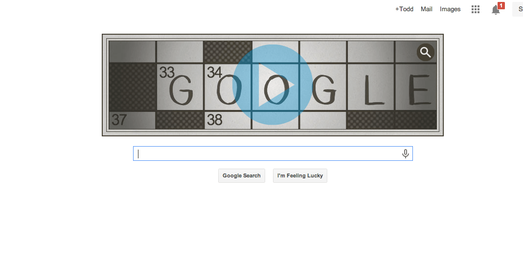 Google Doodles A Crossword For Puzzle S 100th Anniversary