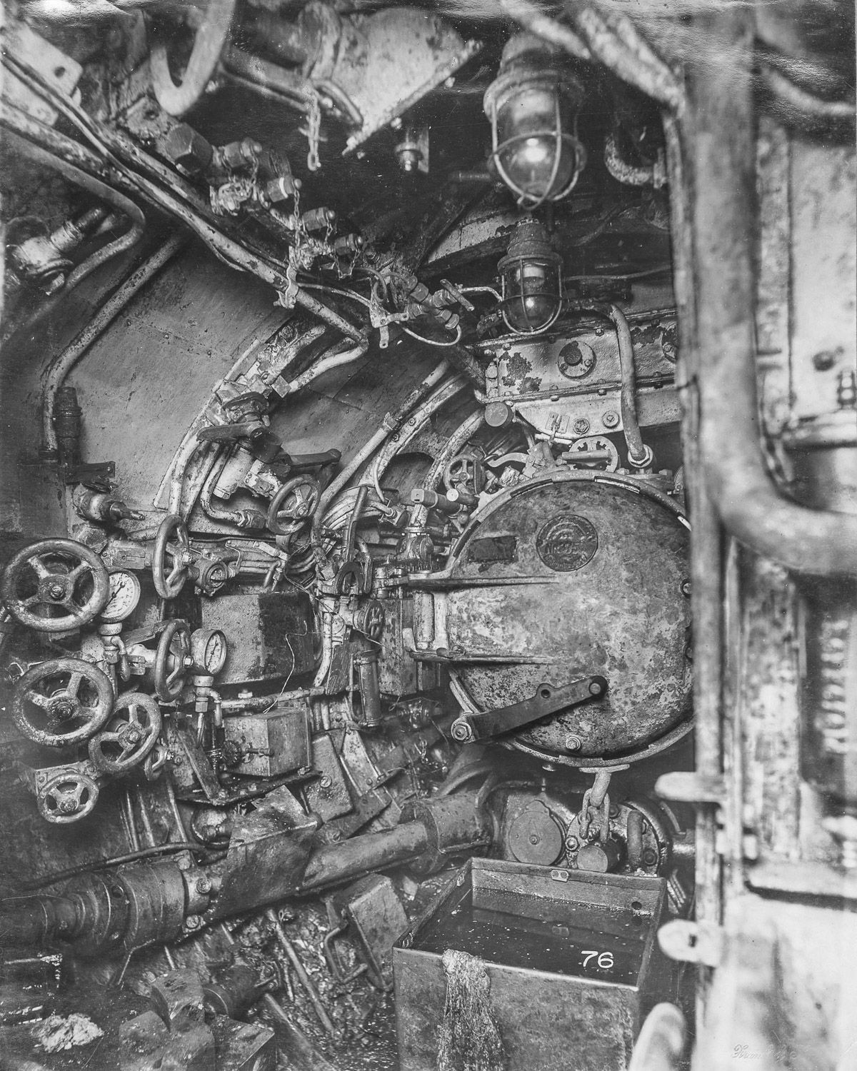 hight resolution of aft torpedo room
