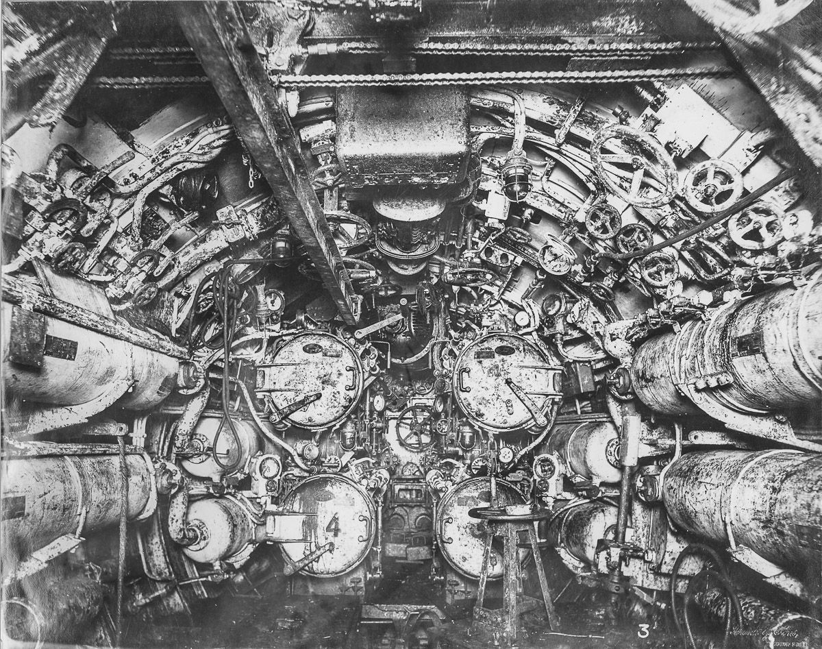 hight resolution of forward torpedo room
