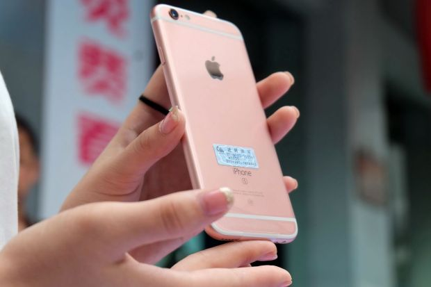iPhone 6s goes one sale in Chinese stores for Apple fans