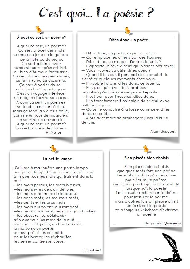 Poesie Mon Ecole Est Plein D Images : poesie, ecole, plein, images, Rentrée], C'est, Poésie, école