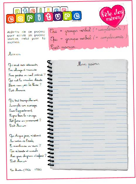 Poesie Mon Ecole Est Plein D Images : poesie, ecole, plein, images, Poésie, école