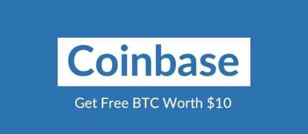CoinBase - Get $10 free