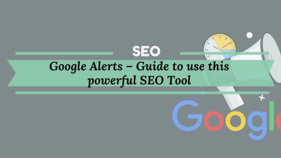 Google Alert Seo Tool