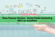 MassPlanner Review – Social Media 100% on AutoPilot