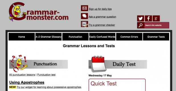 Grammar Monster