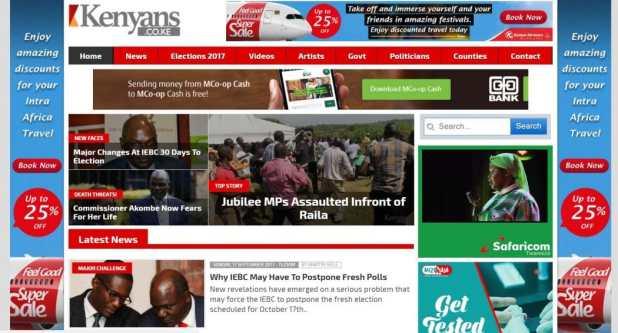 kenyans.co.ke Homepage