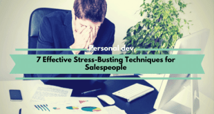 7 Effective Stress-Busting Techniques for Salespeople