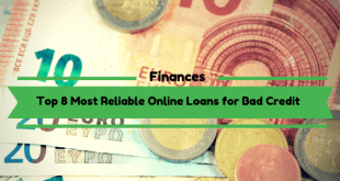 Top 8 Most Reliable Online Loans for Bad Credit