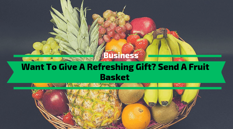 Want To Give a Refreshing Gift