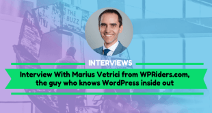 Interview with Marius Vetrici from WPRiders.com