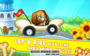 Pet Friends Park Racing (Mod Money)