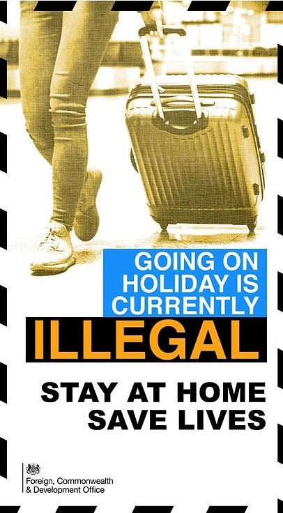 uk illegal holidays Βρετανία