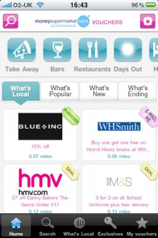 Moneysupermarket.com iphone app