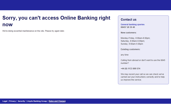 Halifax & Bank Of Scotland Online Banking FAIL - Money Watch