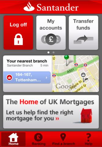 Santander iphone app money watch santander iphone app reheart Image collections