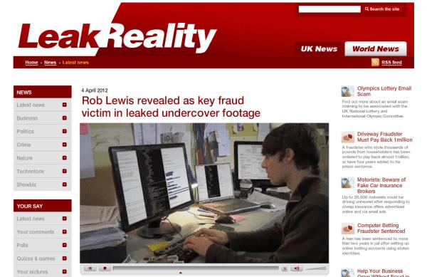 Facebook Bank Fraud