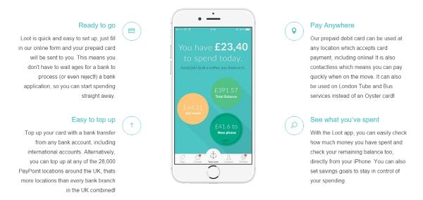 Loot student money management app