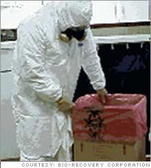 Six Figure Jobs Crime Scene Cleaner Apr 15 2005