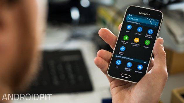Как освободить место на Galaxy S5