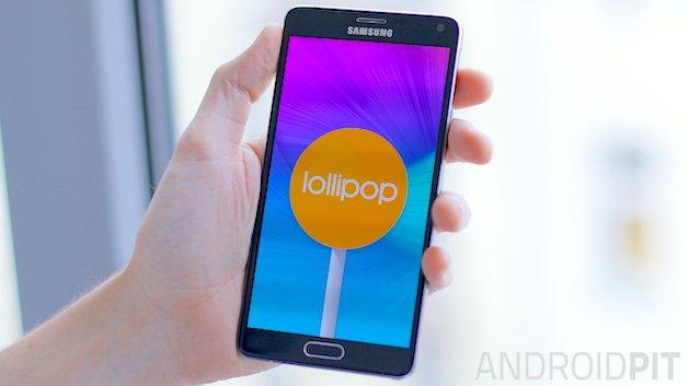 Как исправить проблемы с Galaxy Note 4 Lollipop