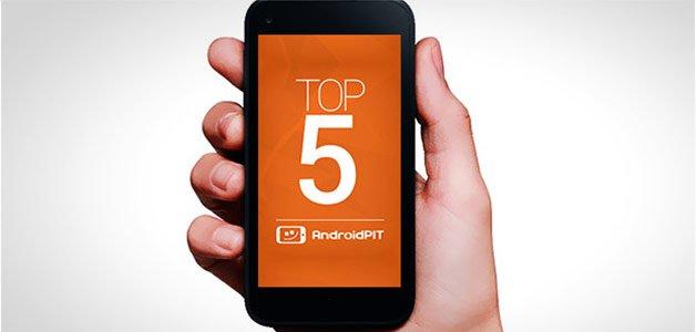 Топ-5 тем на форуме Android