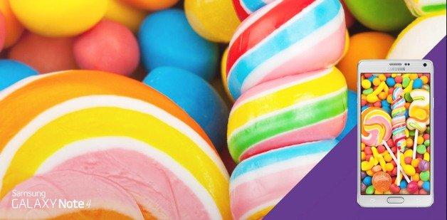 Как установить Android 5.0.1 Lollipop на Galaxy Note 4