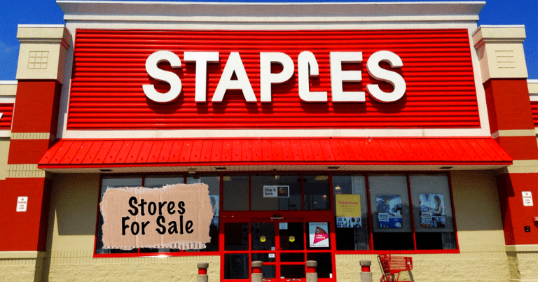 Staples for sale