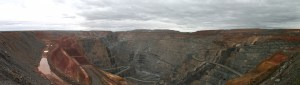 Superpit view of Karlgoorlie mine