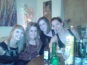 Girls reunited for Stephen's night!!