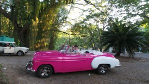 Touring around Havana in a 1949 Chevy