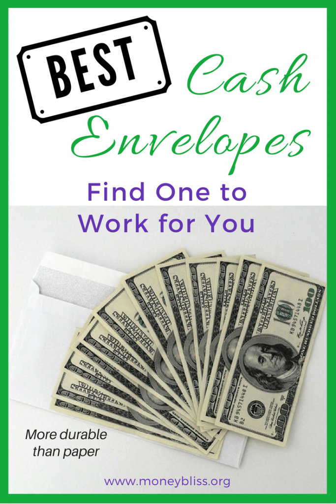 best cash envelopes find one to work for you money bliss