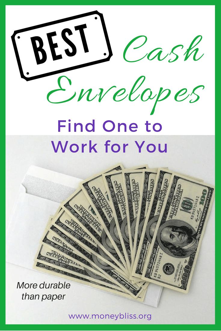 best cash envelopes for