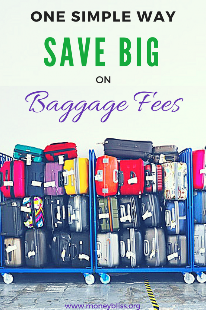 How to avoid baggage fees. Learnhow to save on baggage fees. Save money airline baggage fees. How to get around frontier baggage fees. Simple hacks to save money when traveling.