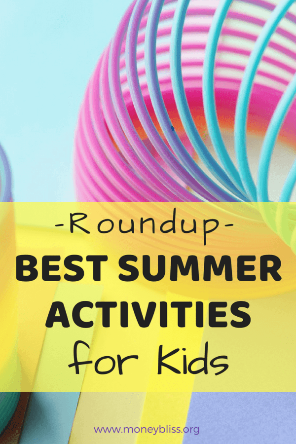Roundup of the Best Summer Activities for Kids