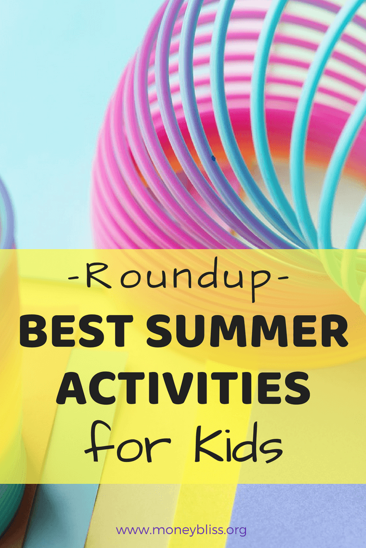 Be prepared for summer and bored kids. With this roundup, you will find plenty of activities to do in summer vacation. Find free activities for kids. Create memories with these summer activities for kids. #kidsactivities #summer #teach #homeschooling #fun #frugal