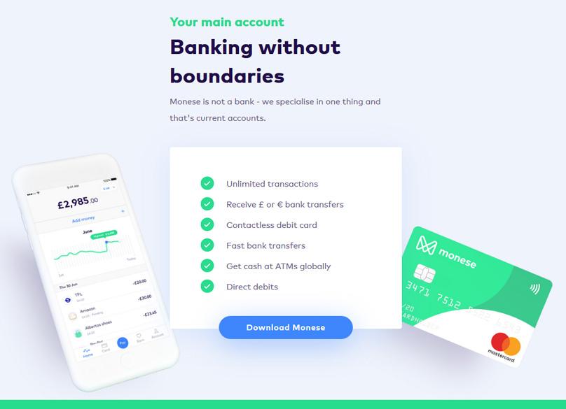 Monese Bank Account