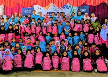 Over 90 primary school students benefitted from the 2019 CGC Back-to-School programme.